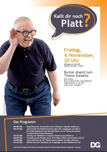 Plakat Dialektabend Eupen-04-11-2011