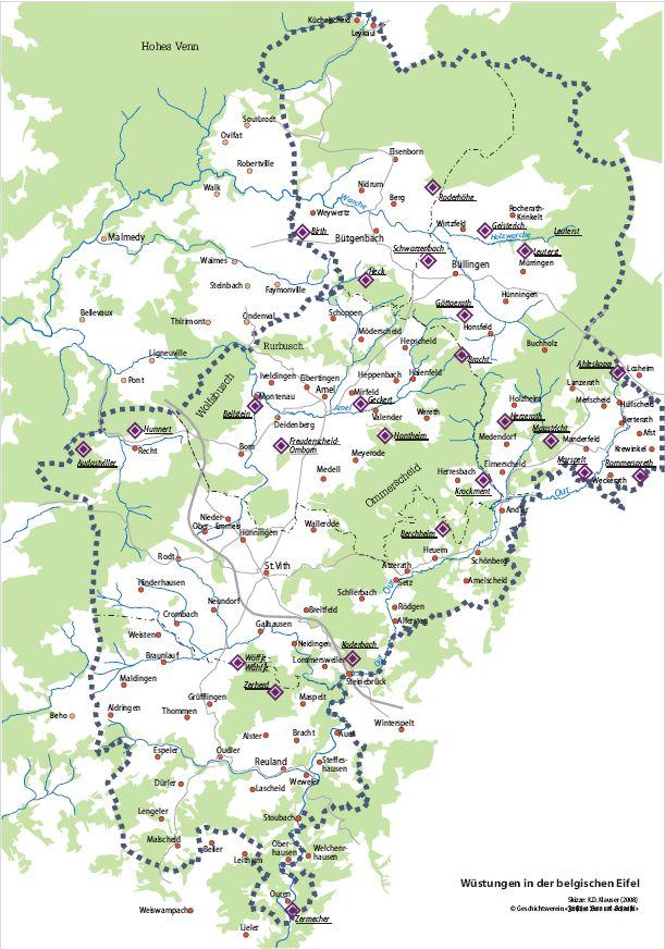 Eifel Karte Pdf.Kartenarchiv Geschichts Und Museumsverein Zwischen Venn Und