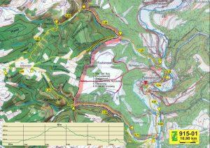 Wanderung von Ouren zum Ribbach- und Schiebachtal