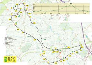 Wanderung von Neundorf nach Crombach-Bahnhof und Rodt