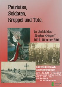 Ausstellung zum Ersten Weltkrieg im ZVS-Geschichtsmuseum