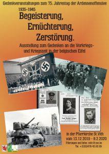 """""""Begeisterung, Ernüchterung, Zerstörung"""" - Die Zeit von 1935 - 1945 in der belgischen Eifel"""